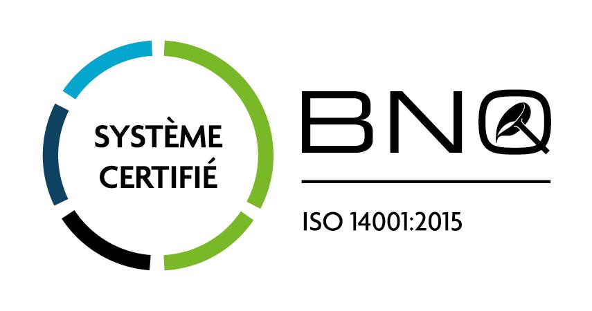 BNQ Logo CS ISO14001 FR CMYK